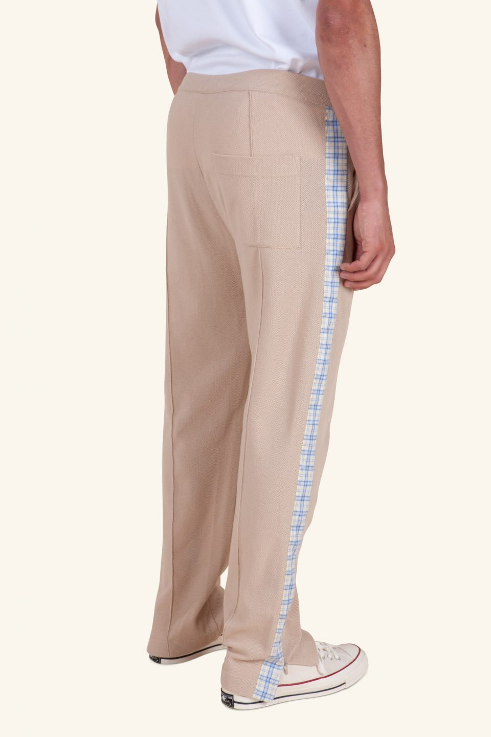 Striped Pique Pants