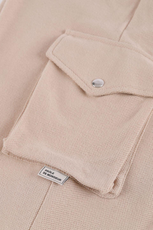 Baggy Pique Cargo Pants