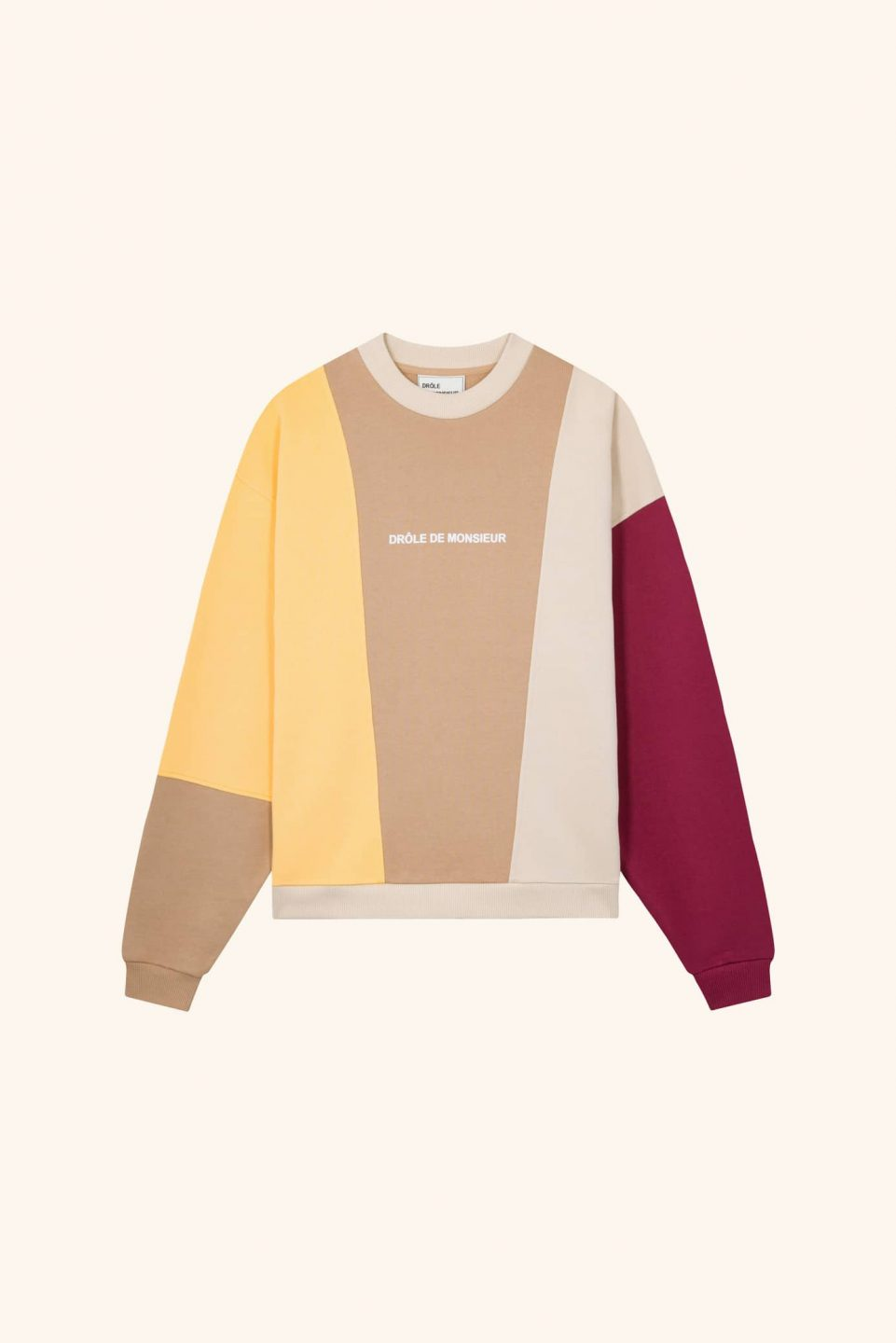 Color Block Logo Sweatshirt