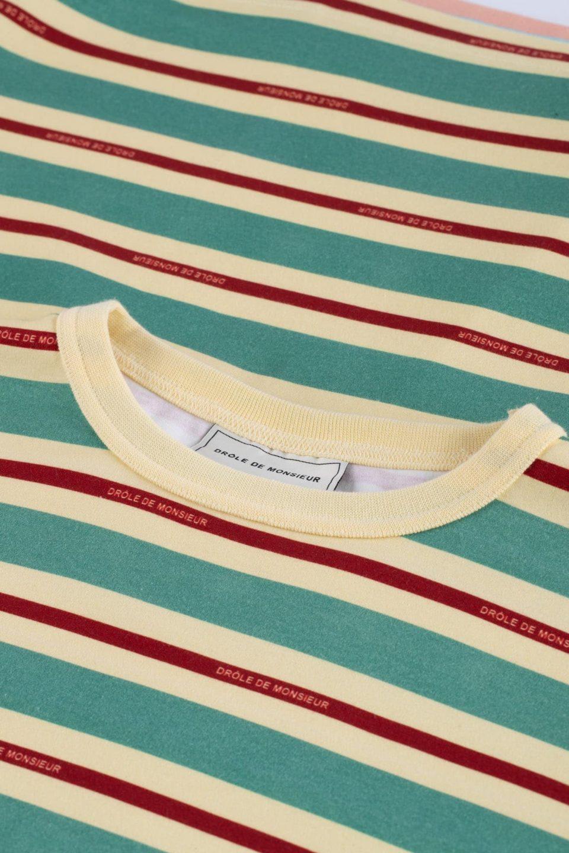 Vintage Striped Tee Loose Fit