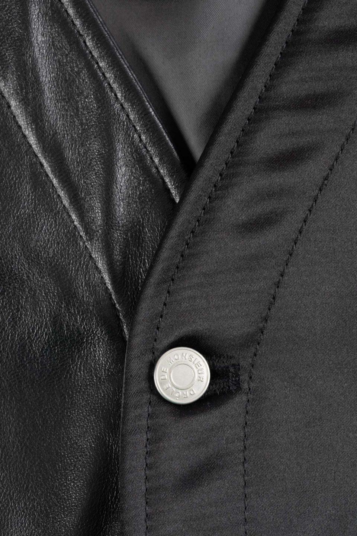 Leather Utility Jacket