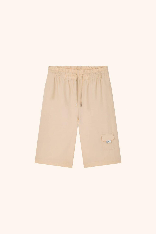 Wool Oversize Short