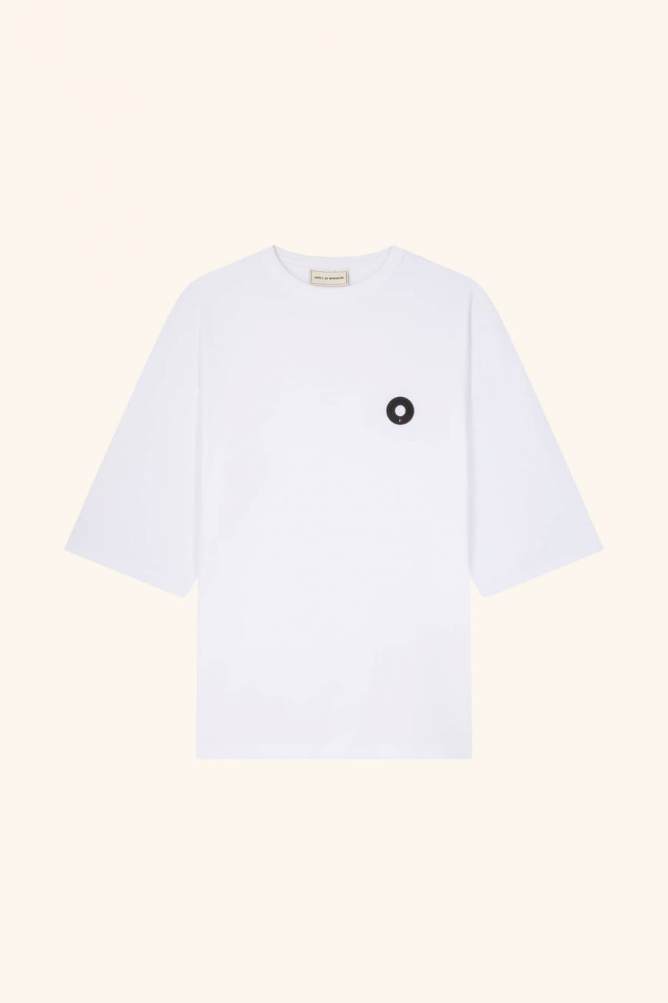 Oversize Patched Tee