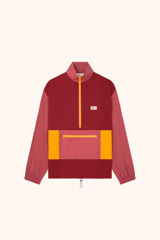 Nylon Paneled Jacket