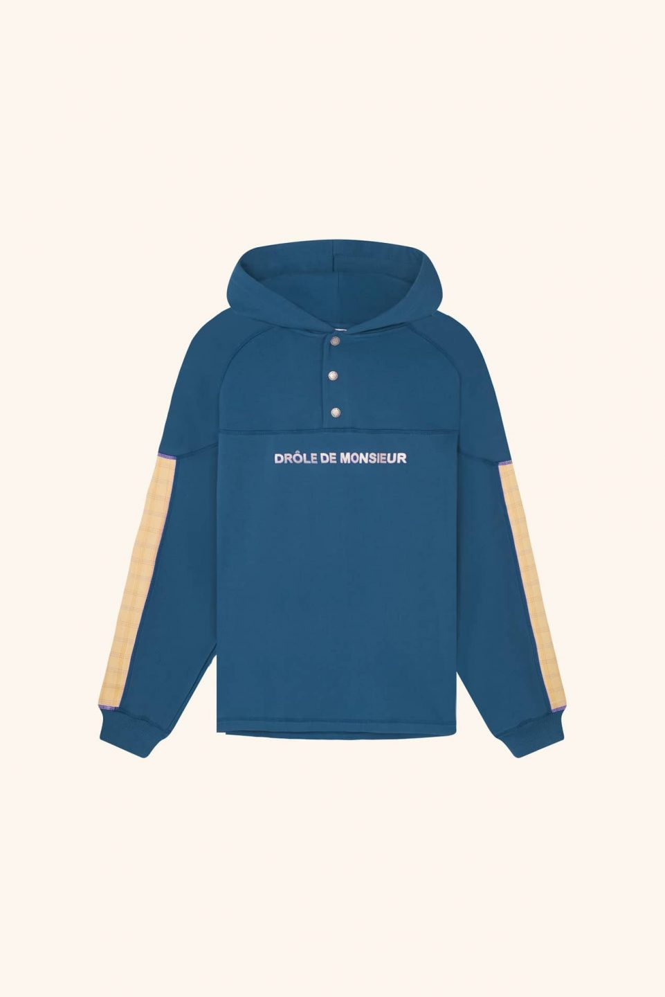 Buttoned Hoodie