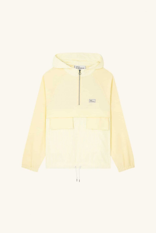 Oxford Zipped Top