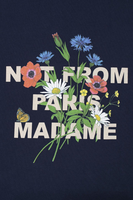 Flower Slogan Hoodie