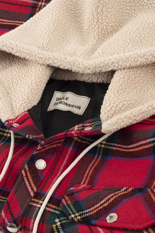 Padded Check Jacket