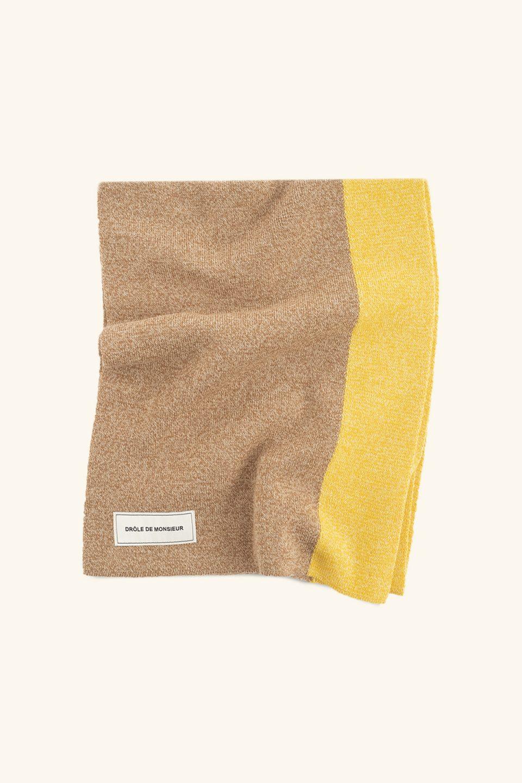 Wool Bicolor Scarf