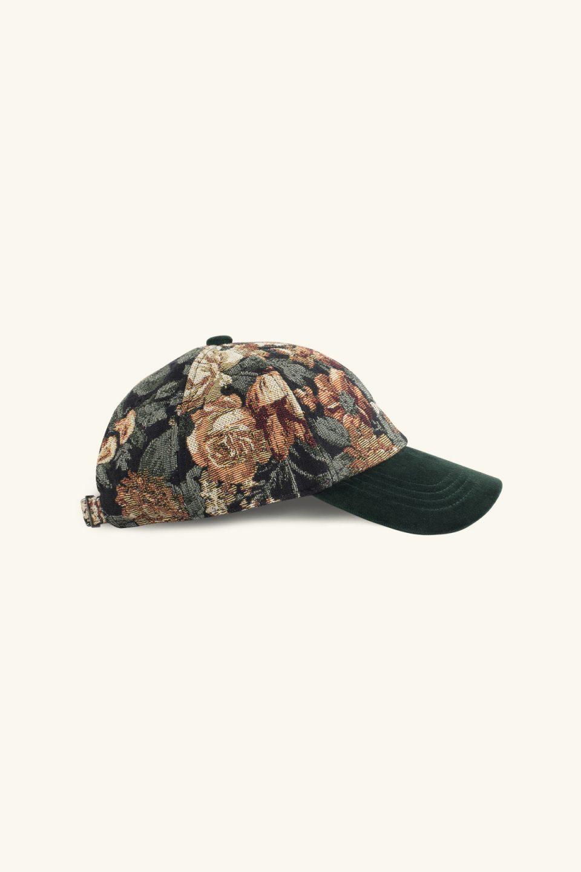 Floral Cap