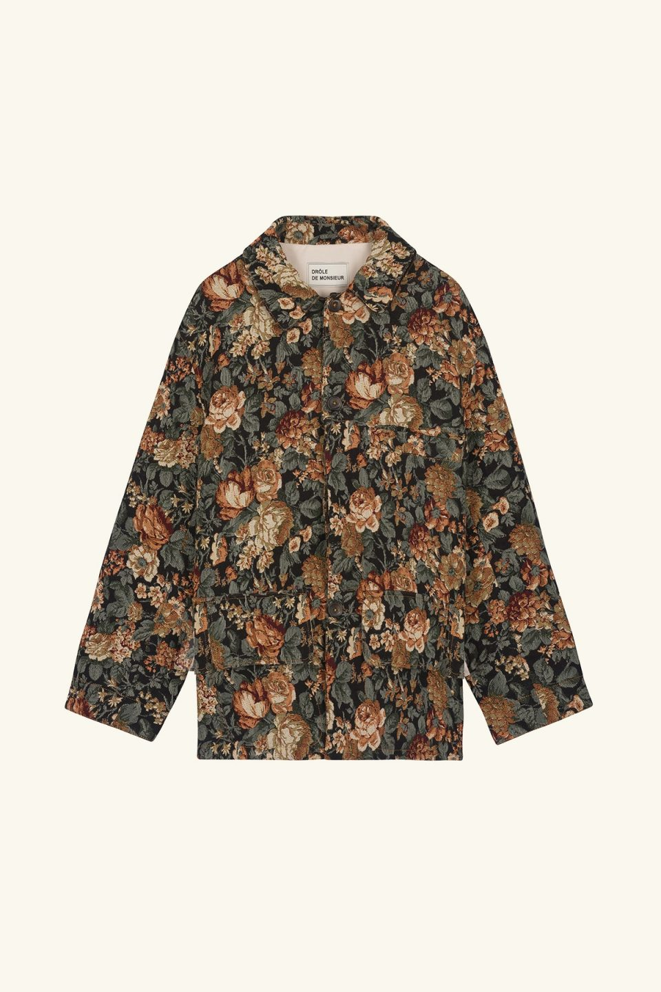 Flower Collared Jacket