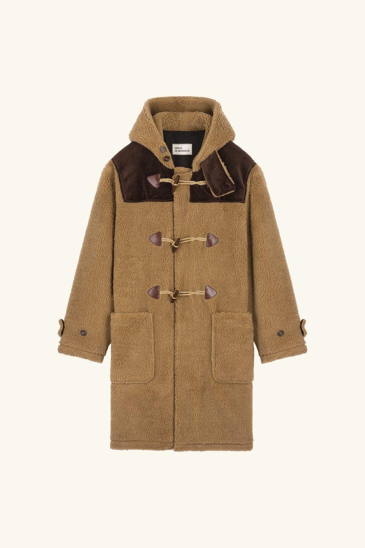 Sherpa Duffle Coat