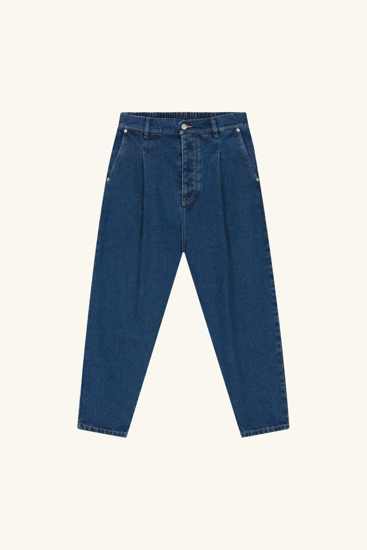 Denim Cropped Pants