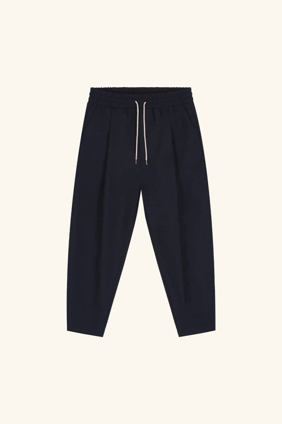 Wool Cropped Pants