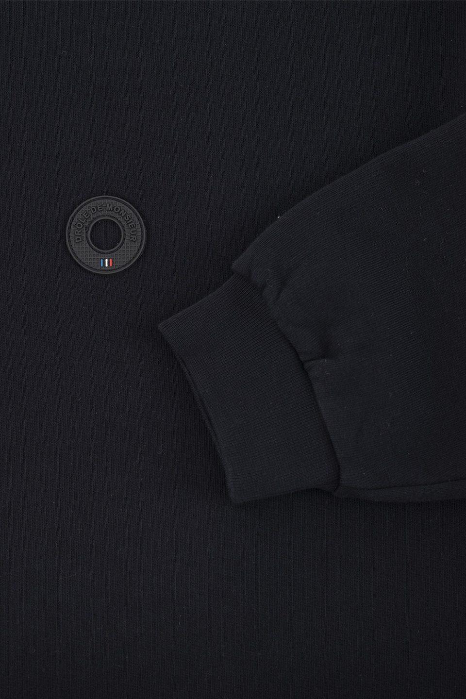 Printed Collar Sweatshirt