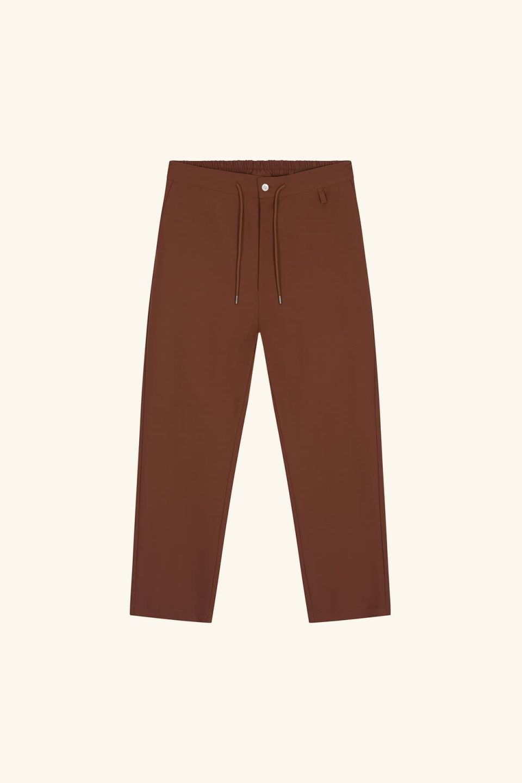 Wool Baggy Pants