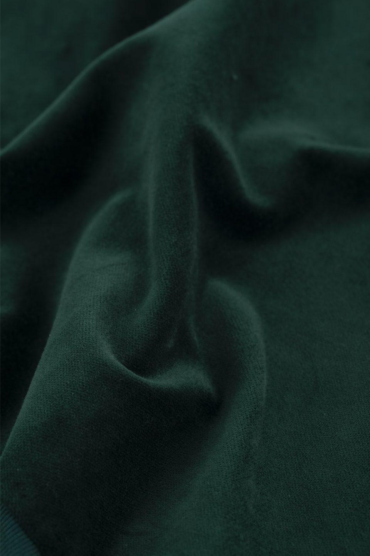 Velvet Yoked Sweatshirt