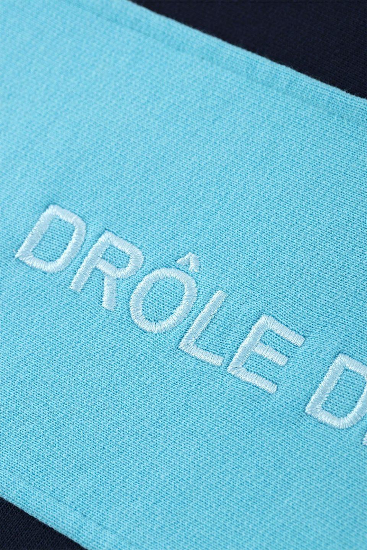 Half Zipped Paneled Sweatshirt
