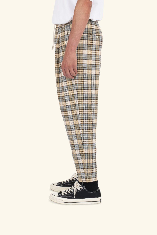 Check Cropped Pants