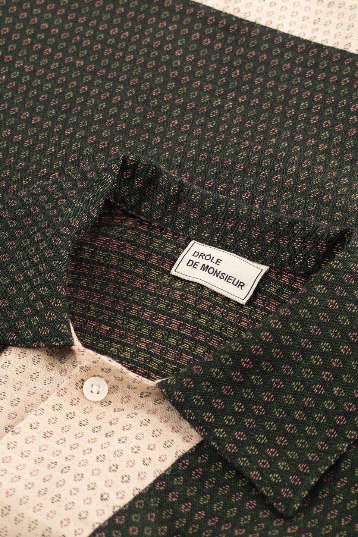 Linen Yoked Shirt