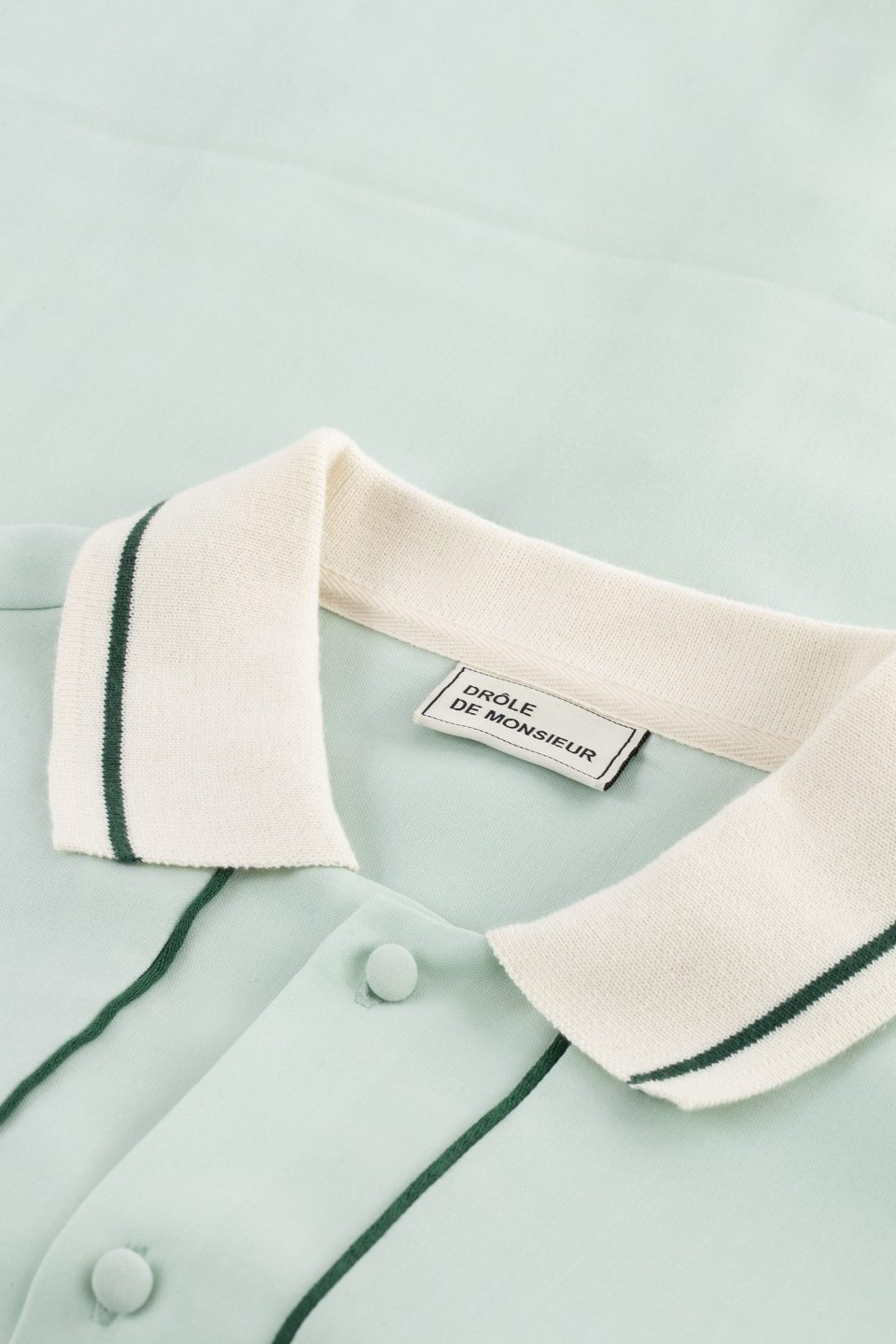 Wool Piped Shirt