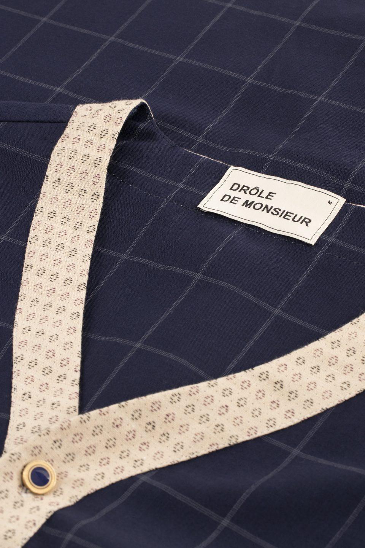 Wool Check Shirt