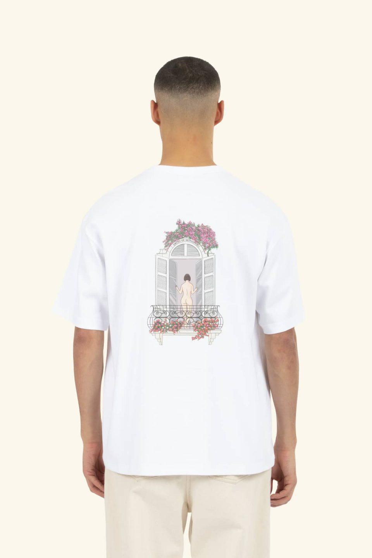 Balcony Graphic T-shirt