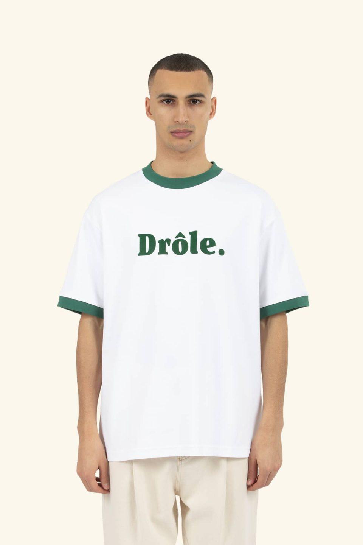 Ribbed Drôle T-shirt