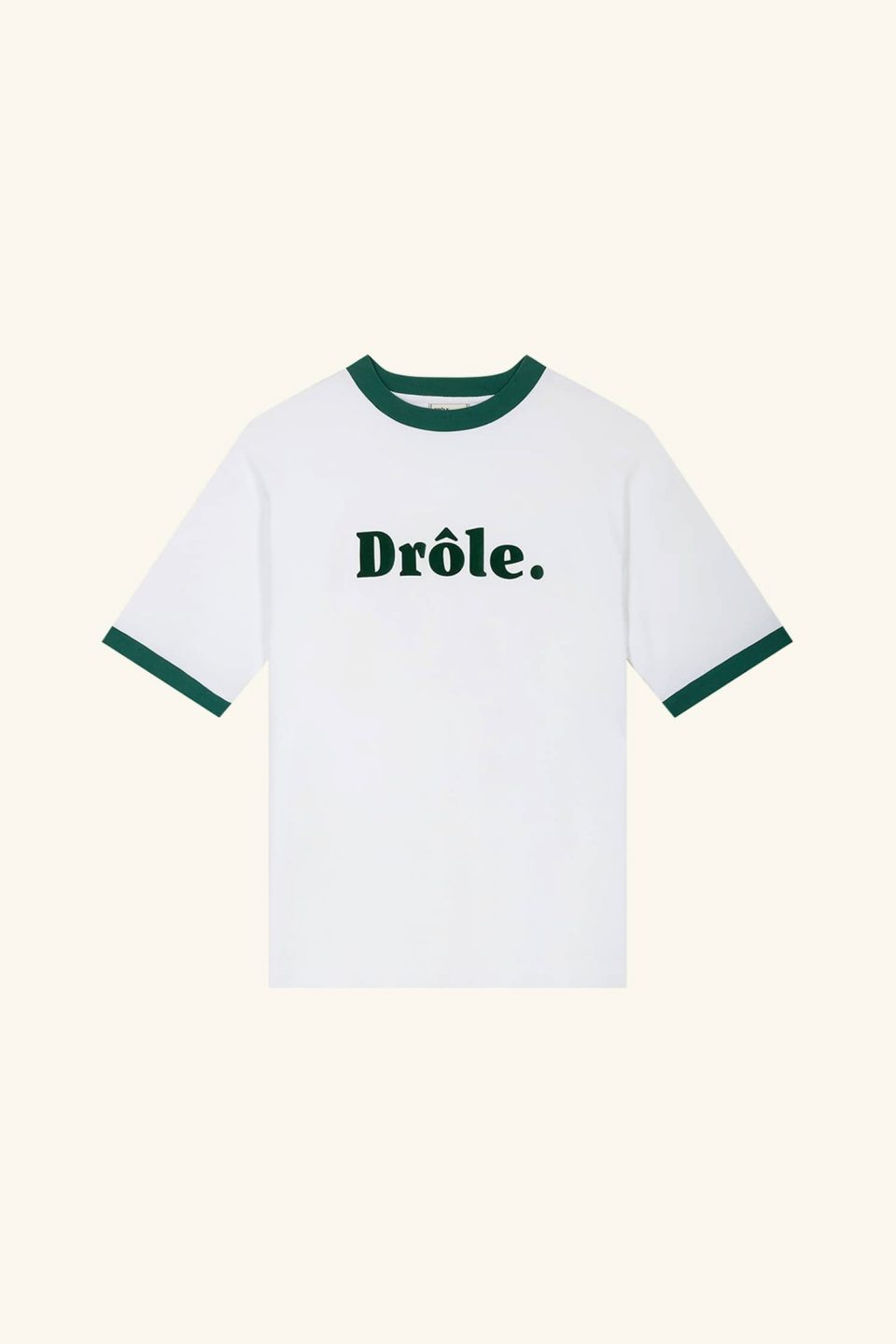 Ribbed Drôle T-shirt