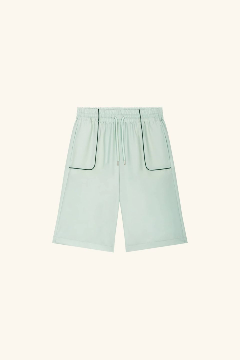 Wool Piped Short