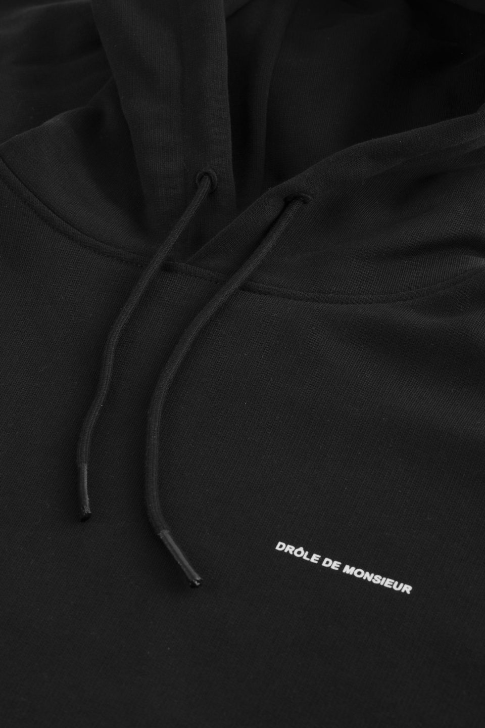 Slogan Embroidered Hoodie