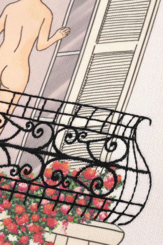 Balcony Graphic Hoodie