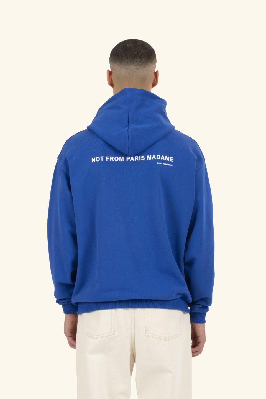 Slogan Pocket Hoodie