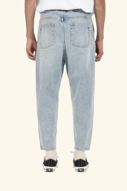 Cropped Denim Pants